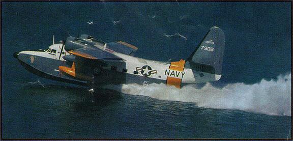 Grumman Albatross Taking Off