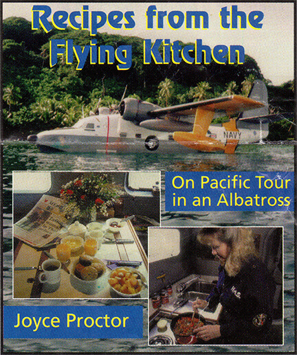 Book Cover, Recipes from the Flying Kitchen - By Joyce Proctor