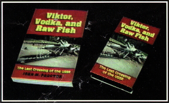 Cover, Viktor, Vodka and Raw Fish - by John M. Proctor