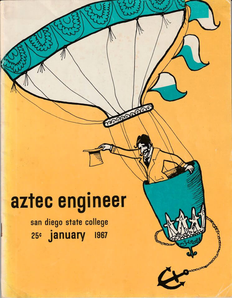 Aztec Engineer - January 1967