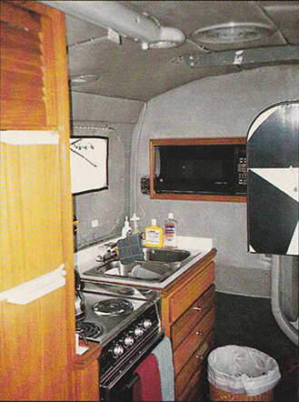 Grumman Albatross Kitchen