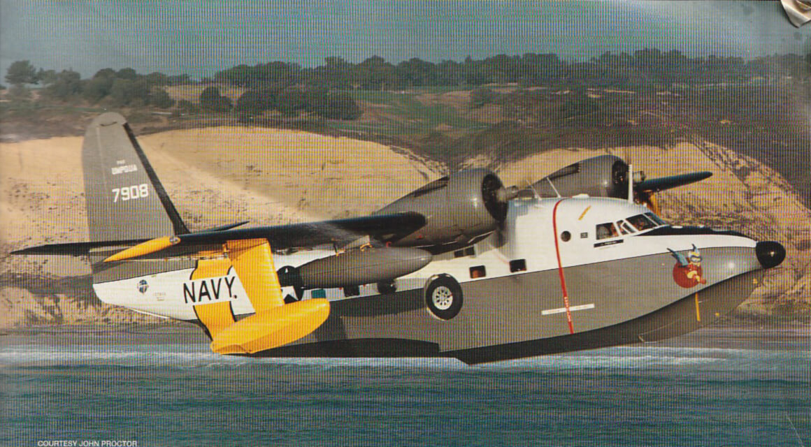 Photograoh of John Proctor's Grumman Albatross from Warbirds Magazine - December 1996